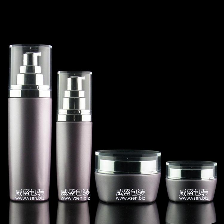化妆品瓶子套装 玻璃 化妆品磨砂玻璃瓶